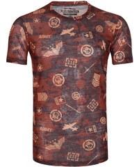 PLUS EIGHTEEN Tshirt imprimé red