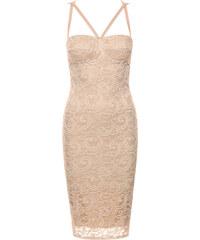 Saxana Béžové šaty Lace Aliza