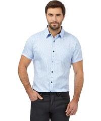 DASH Modrá košile s potiskem drobných kapek