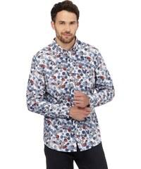 DASH Košile s drobnými barevnými květy