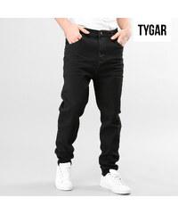 TYGAR Jeans regular unicolore avec entrejambe profond