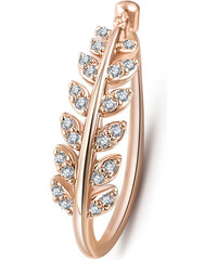 Lesara Plattierter Ring mit Zirkonia-Steinen - Gold - 52