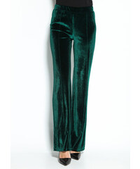 Venca Sametové kalhoty zelená