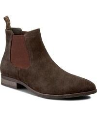 Kotníková obuv s elastickým prvkem LASOCKI FOR MEN - MI07-RUBINO-01 Brązowy CIemny