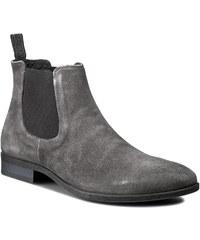 Kotníková obuv s elastickým prvkem LASOCKI FOR MEN - MI07-RUBINO-01 Šedá