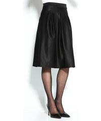 Venca Jednobarevná rozšířená sukně černá