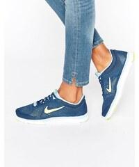 Nike - Free Tr5 - Baskets - Bleu - Bleu