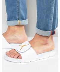 Nike - Air Jordan Hydro 5 - Tongs style mules - Blanc 820257-133 - Blanc
