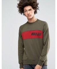 Nike SB - Everett - Sweat-shirt ras de cou - Vert 800145-325 - Vert