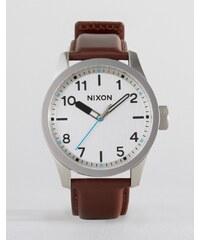 Nixon - Safari - Montre en cuir - Marron - Marron