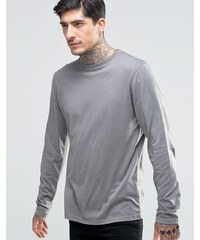 Another Influence - T-shirt manches longues - Gris