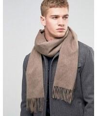 Selected Homme - Écharpe en laine - Marron