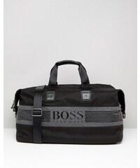 BOSS Green By Hugo Boss - Fourre-tout avec logo effet pixellisé - Noir
