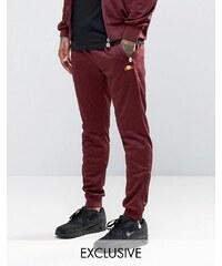 Ellesse - Pantalon de survêtement zippé - Rouge