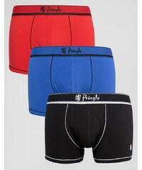 Pringle - Mehrfarbige Boxershorts im 3er-Set - Mehrfarbig