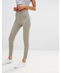 Missguided - Vice - Jean skinny taille haute - Vert