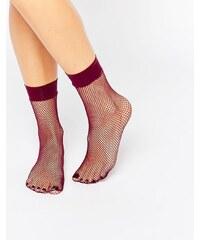 ASOS - Socquettes en résille - Baie - Violet