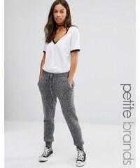 Glamorous Petite - Pantalon de sport en maille - Gris