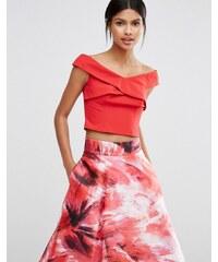 Coast - Top style Bardot - Rouge