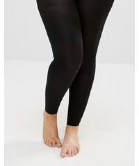 Yours - Collants 80 deniers sans pieds - Noir