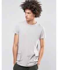 Systvm - Dime - T-Shirt mit Cargo-Taschen - Beige