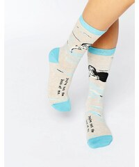 Blue Q - Not The Boss - Chaussettes - Multi