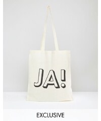 Reclaimed Vintage - JA! - Fourre-tout - Beige