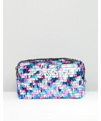 Skinnydip - Pinata - Make-up-Tasche mit Pailletten - Mehrfarbig