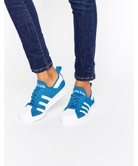 Adidas - Superstar 80s - Baskets - Bleu