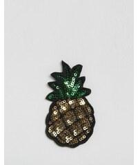Orelia - Écusson ananas brodé - Multi
