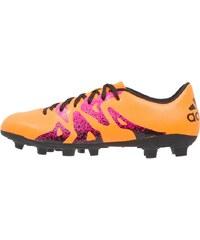 adidas Performance X 15.4 FXG Chaussures de foot à crampons solar gold/core black/shock pink