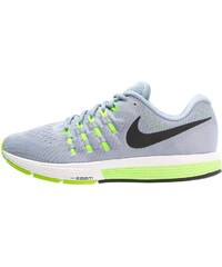 Nike Performance AIR ZOOM VOMERO 11 Chaussures de running neutres blue grey/black/pure platinum/electric green/summit white