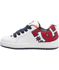 DC Shoes COURT GRAFFIK SE Chaussures de skate white/red/black