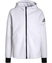 adidas Performance Sweat zippé white/black