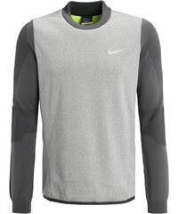 Nike Golf TECH SPHERE Sweatshirt carbon heather/volt