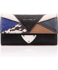 Luxusní kožená peněženka COCCINELLE B 14 PATCHWORK