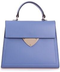 Kožená kabelka COCCINELLE B 14 BLUE NECTAR