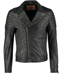 Goosecraft BIKER Veste en cuir black