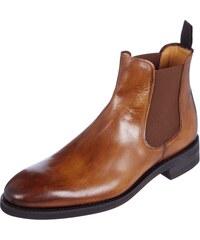 Paul Rosen Men Chelsea Boots aus echtem Vintage Leder