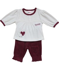 Schnizler Baby - Mädchen Jogginganzug Nickianzug This Heart Is For You