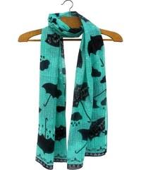 Disaster tyrkysový šátek Penny Black Umbrella