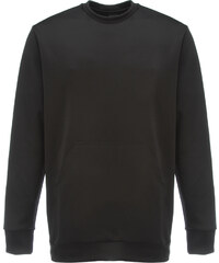 ADYN A D Y N Sweatshirt in Neopren Optik Schwarz