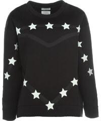 Each x Other Neopren Pullover mit Sternen Schwarz