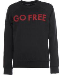 Each x Other Sweater 'GO FREE' Print Schwarz