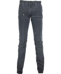 GRADE Jeans Used-Look Grau