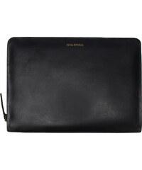 Royal Republiq GALAX kleine Notebooktasche in Schwarz