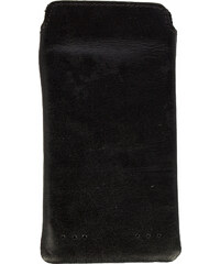 Royal Republiq Handyhülle aus Leder in Schwarz