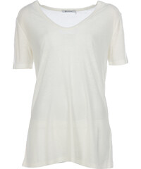 T by Alexander Wang T-Shirt in Creme