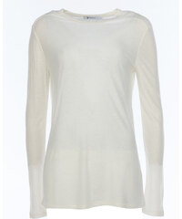 T by Alexander Wang Longsleeve in Creme