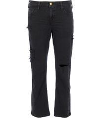 Ba&sh BACHIR Jeans Used-Look in Schwarz